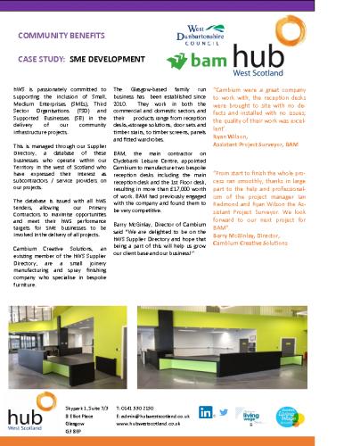SME Development – Case Study