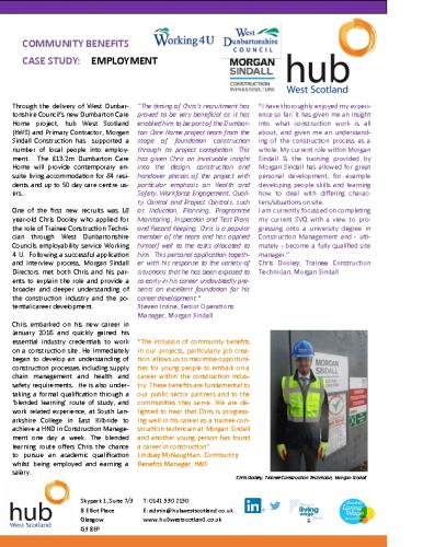 Dumbarton Care Home – Employment