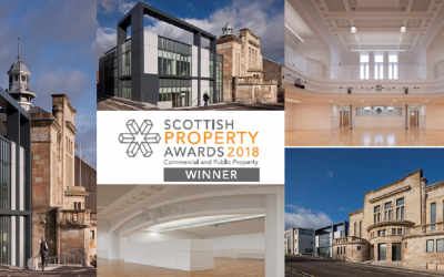 Kirkintilloch Town Hall wins Town Centre Regeneration Project of the Year at the Scottish Property Awards