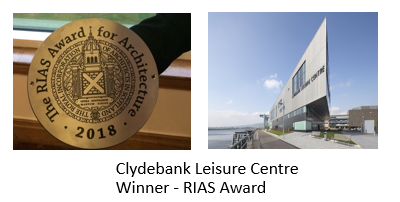 Clydebank Leisure Centre wins RAIS Award