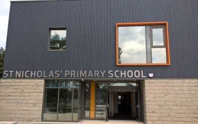 Practical Completion on St Nicholas' Primary School