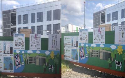 Blairdardie Primary School Hoarding Competition