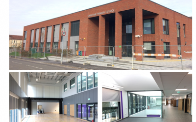 Practical Completion of Carntyne Primary School