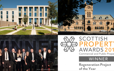 16 Church Street wins regeneration Project of the Year at the Scottish Property Awards