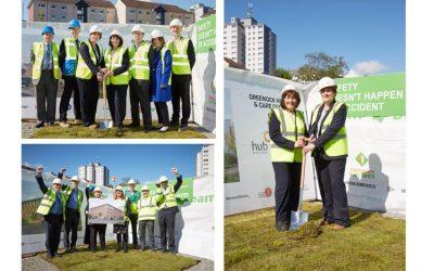 Cabinet Secretary for Health kicks off work on new Greenock Health & Care Centre