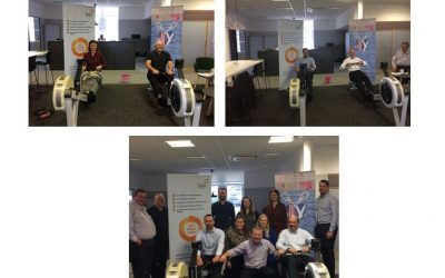 hWS participate in Morrison Construction's five day charity rowing challenge
