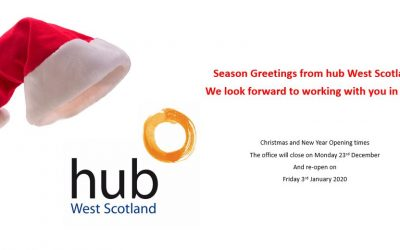Seasons Greeting from hub West Scotland