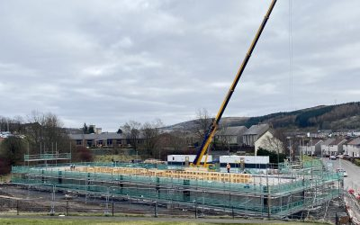 £3m Greenock nursery taking shape